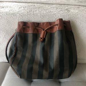 1990s Vintage FENDI Mon Tresor Bucket Bag